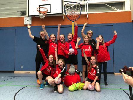 E-Jugend Korbball wird Landesmeister Altersklasse 10/11